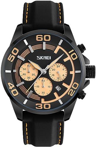 423f733f2a30 Hombres Top marca lujo relojes correa de silicona reloj deportivo  impermeable moda cuarzo relojes de pulsera  Amazon.es  Relojes