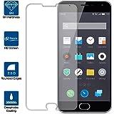 Beiuns Film Protection d'écran en Verre Trempé Ultra Dur Protecteur d'écran pour Meizu M2 (Ecran: 5 pouces)(Non compatible avec Meizu M2 Note)
