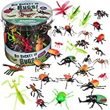 Bug Action Figure - 30 Giant Insects Playset (Ants, Tarantula, Spiders) - Large Sized Toy Figurines