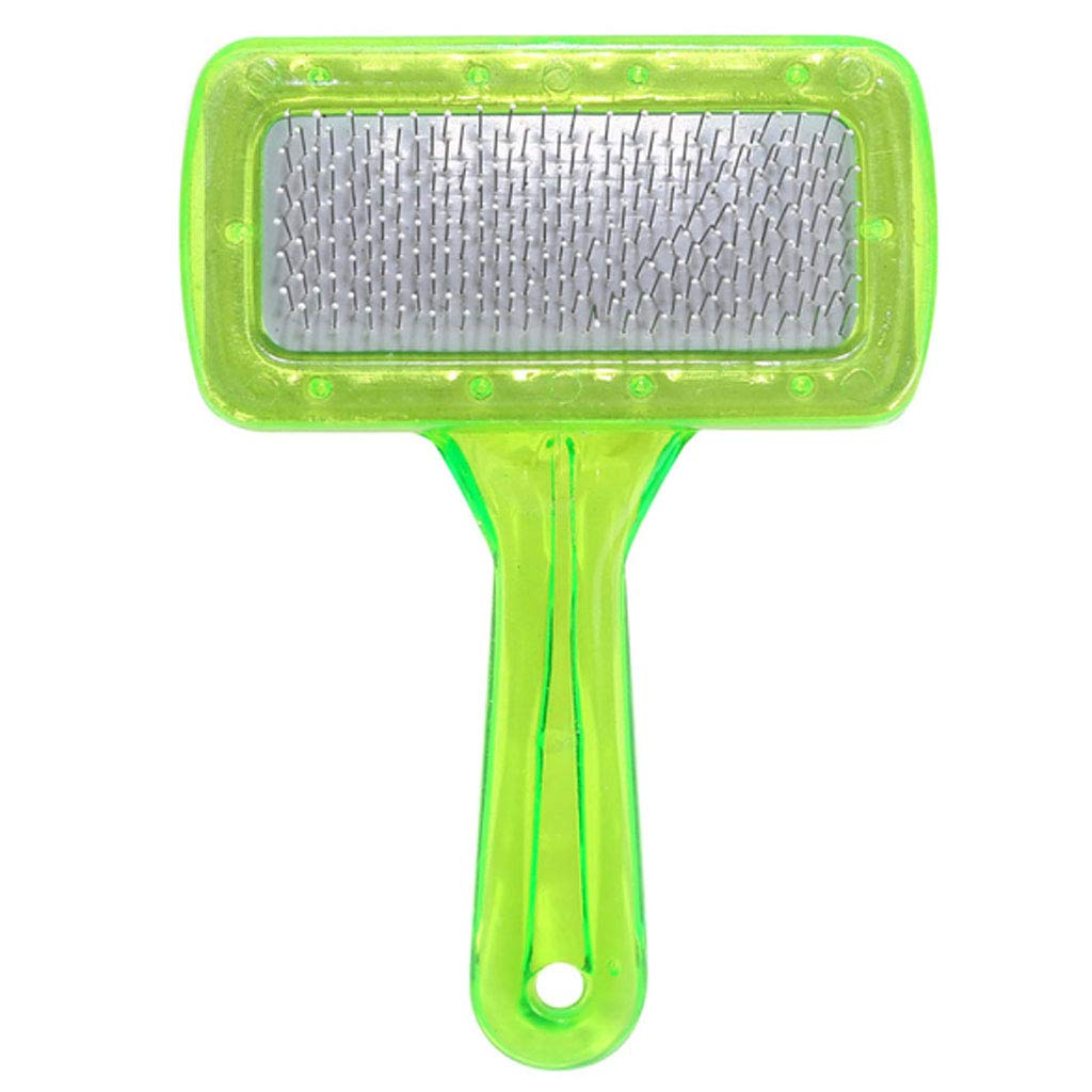 YUEBAOBEI Pet Deshedding Brush,Effective Grooming Tool,for Cats Dogs with Short Medium Long Fur-Reduces Pet Hair Shed by Up to 95%,A
