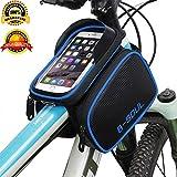 ZLOF Bicycle bag bik eaccessories Phone bag Bike Front Shelf Large Storage Bags waterproof touch screen bags