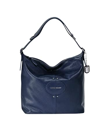 Amazon.com   Longchamp Hobo Bag - Quadri - Navy   Beauty 939fd57f0c616