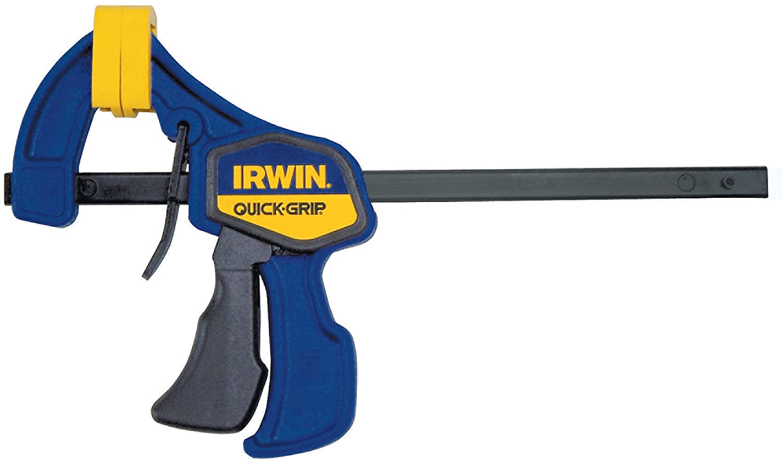 New IRWIN Tools  6 inch QUICK-GRIP One Hand Mini Bar Clamp 546ZR
