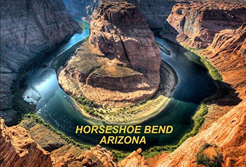 Arizona Usa United States Fridge Refrigerator Magnets  1 Piece  Style  Horseshoe Bend  P4