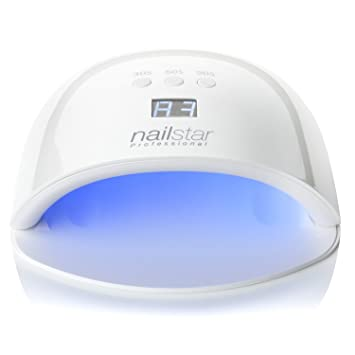 Amazon.com : NailStar Professional UV LED Nail Dryer Nail Lamp for ...