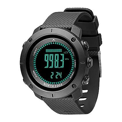 MDBLYJ Reloj Inteligente, Reloj de Buceo de Alta presión Reloj Multifuncional Deportes al Aire Libre