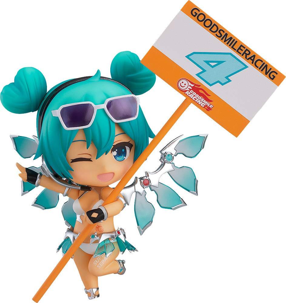 Good Smile Racing JUL189246  Hatsune Miku Gt Project Racing Miku Nendoroid Action Figure 2013 Sepang Version