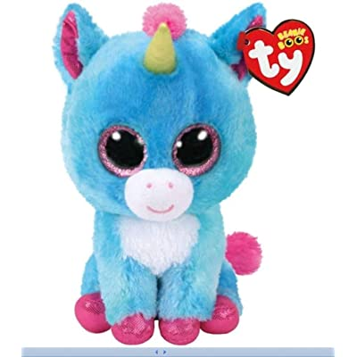 "Ty Stitches The Unicorn 6"" Store 2020 Exclusive Beanie Boo-Rare-NWT: Toys & Games"