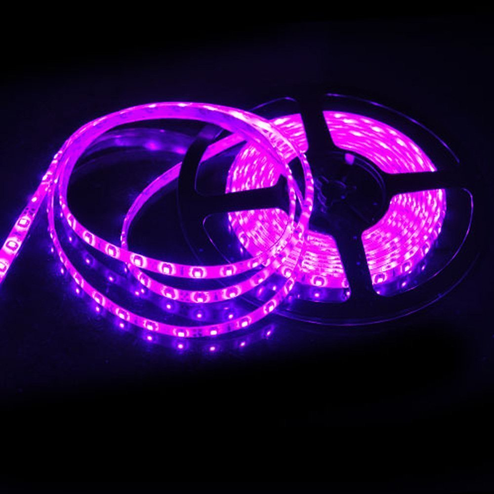 Amazon susay 5m waterproof ip65 300 led 3528 smd flexible led amazon susay 5m waterproof ip65 300 led 3528 smd flexible led light lamp strip purple dc 12v home improvement aloadofball