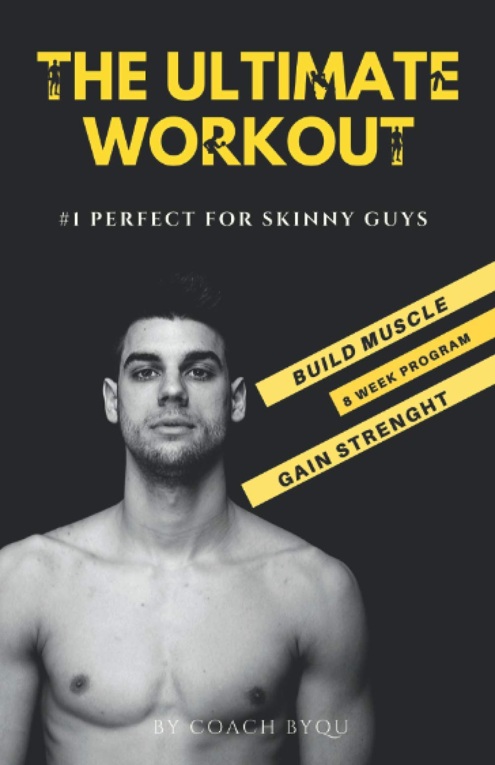 Skinny guy in gym