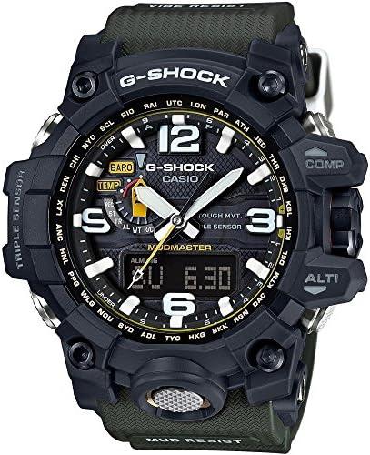 Casio Men s G-Shock GWG1000-1A3 Army Green Black Resin Quartz Watch