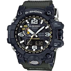 61xlzvCdkqL. SS300  - Casio Men's G-Shock GWG1000-1A3 Army Green/Black Resin Quartz Watch