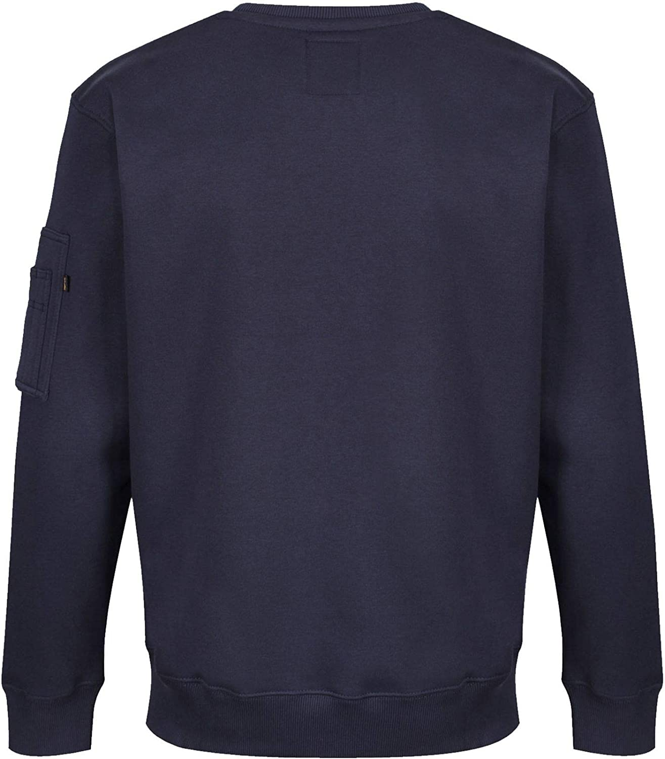 ALPHA INDUSTRIES Herren NASA Sweatshirt Rep Blue