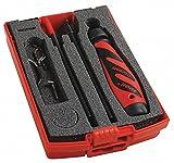 SHAVIV 154-00034 Deburring Tool Set,Plastic,Hi Speed STL. G2271809
