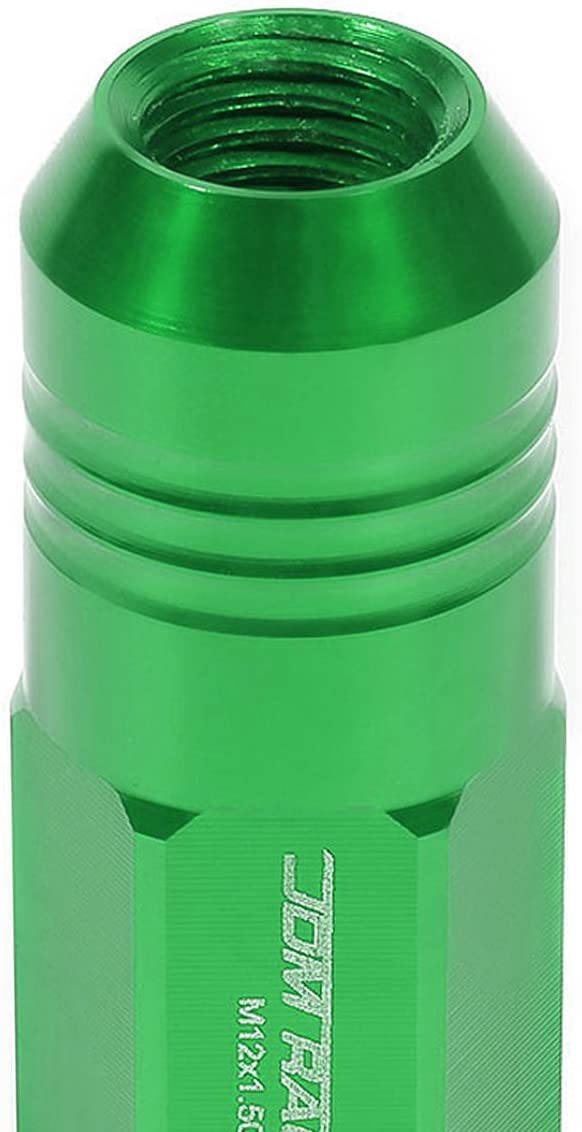 1 X Deep Drive Extension 20-Pcs M12 x 1.5 Green Lug Nuts