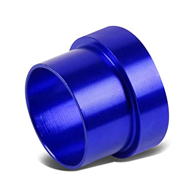 10-AN AN10 5/8 inches Tubing Sleeve Flare Fitting Replacement for Aluminum/Steel Hard Line (Blue): Automotive