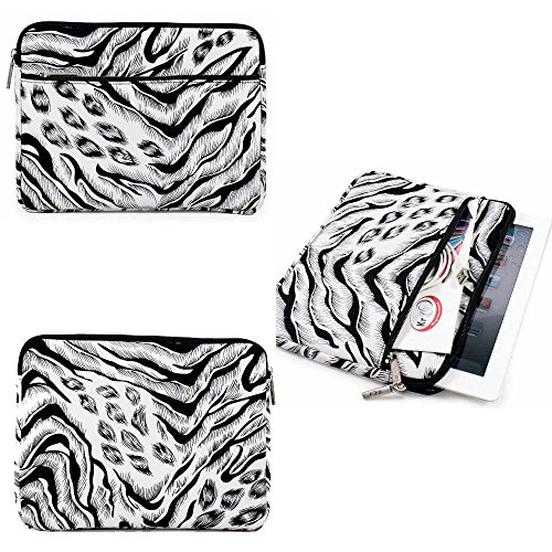 Exclusive Neoprene Protective Tablet Glove with Accessory Pocket (Animal Print)for HP Envy 8 Note , HP Slate 8 Plus , KingPad K70 7-inch