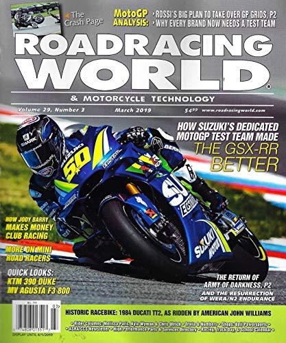 ROADRACING WORLD & MOTORCYCLE TECHNOLOGY Magazine March 2019 THE GSX-RR, Jody Barry, KTM 390 DUKE, MV AGUSTA F3 800