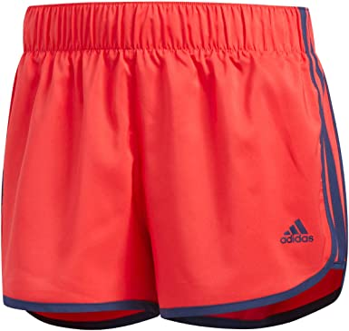 adidas women's m10 woven 3 stripes short
