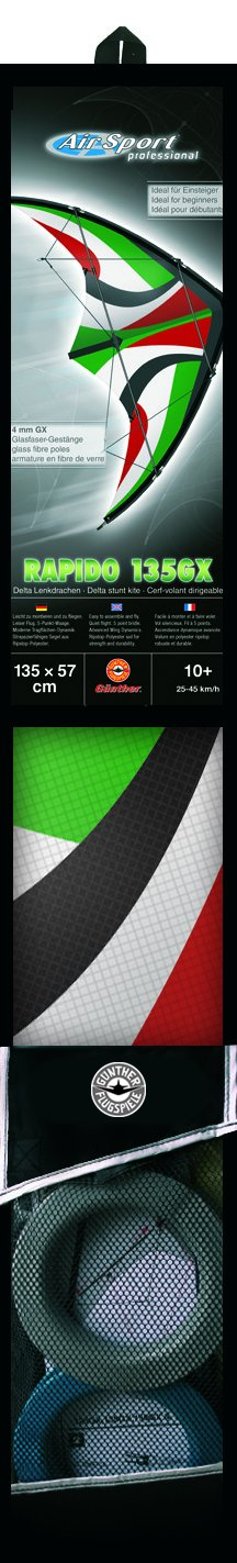 1033 Gunther Kite Sport da Dirigibile Rapido 135gx