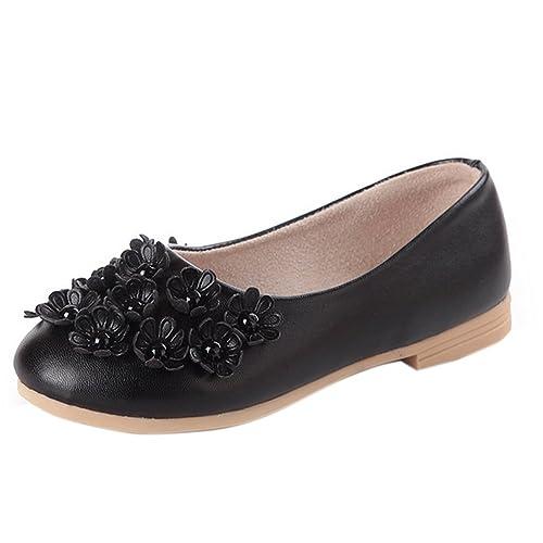 Ltd - Mocasines de Caucho para niña , color Negro, talla 26 EU Niño: Amazon.es: Zapatos y complementos
