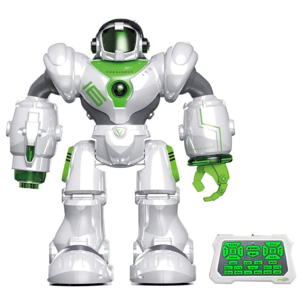 Waroomss Robots Intelligent Robot É lectrique Multifonction, Conception De Charge, Susciter Les Inté rê ts Des Enfants Et Mener Des Rê ves Technologiques Susciter Les Intérêts Des Enfants Et Mener Des Rêves Technologiques