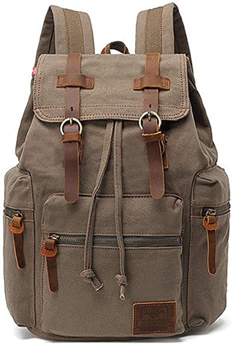 Vintage Backpack OUTDOOR PRODUCTS Original Authentic Canvas Bag PackDay PackBack Pack Hiker Made in USA