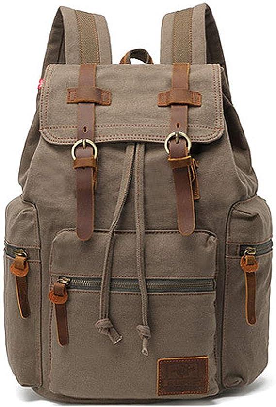 SLHFPX Large Backpack Original Oil Painting Running Horse Laptop Travel School College Backpacks Bag