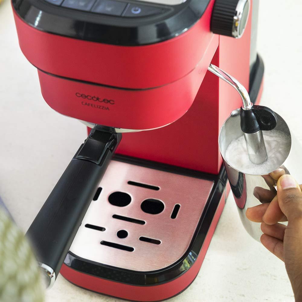 Cecotec Cafetera Express Cafelizzia 790 Shiny para espressos y ...