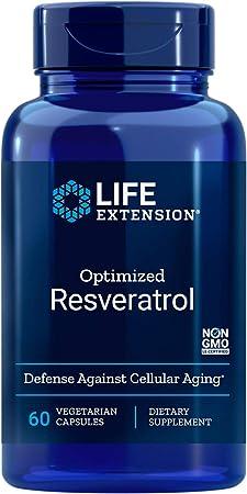 Optimized Resveratrol 250mg (60 Capsulas) Life Extension