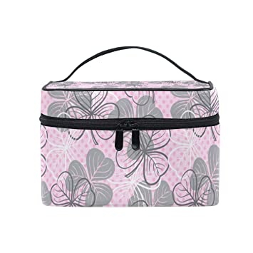 56d738dbf894 Sexy St Patricks Day Lucky Clover Large Travel Toiletry Bag Cosmetic ...
