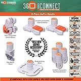 9 Piece 360 Quick Connect GoPro Bundle
