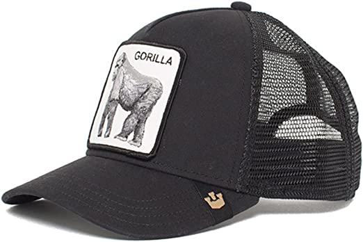 Goorin Bros. King of the Jungle Trucker cap - Grey: Amazon.es ...