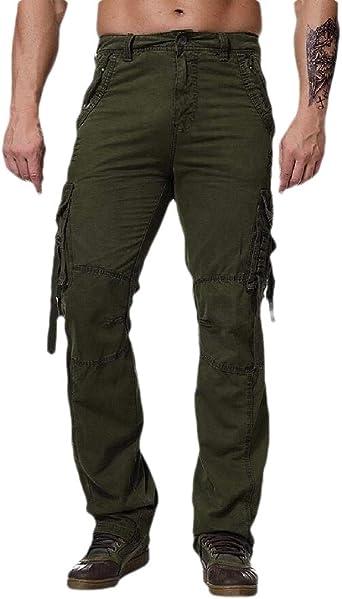 Securiuu Bdu Pantalones Militares Casuales De Algodon Camuflados Tacticos De Combate Para Hombre Verde Ejercito Verde 94 Amazon Es Ropa Y Accesorios
