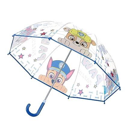 SX-ZZJ Paraguas Plegables Paraguas Transparente para niños Niños y niñas Paraguas para niños Kindergarten