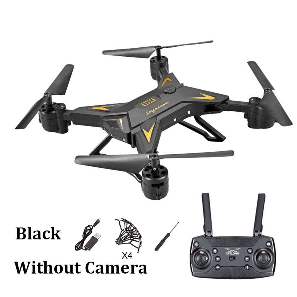 VOVI Drone RC Helicopter with Foldable 6-Axis Aircraft HD 1080P WiFi Remote Control with Built-in Battery Hold Four-axis Aircraft Mini Quadcopter WiFi Real-time Aerial Photography for Outdoor