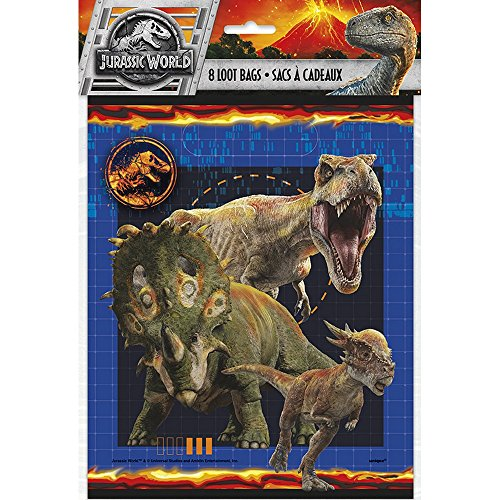 Unique Industries Jurassic World Goodie Bags, (Fallen Party Pack)