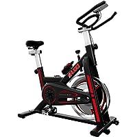 SHUOQI Oefening Fiets Voor Thuis, Indoor Fietsen Spinning Bike, Studio Kwaliteit met Magnetische Weerstand, Grote…