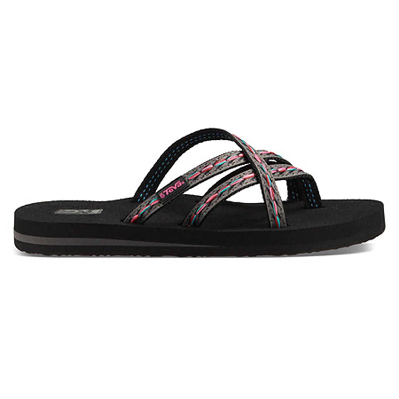 Teva Womens Olowahu Criss Cross Summer Sliders Sandals