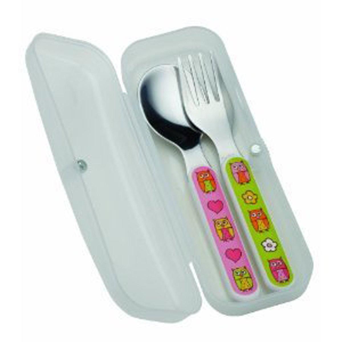 amazon com sugarbooger silverware set hoot baby spoons baby