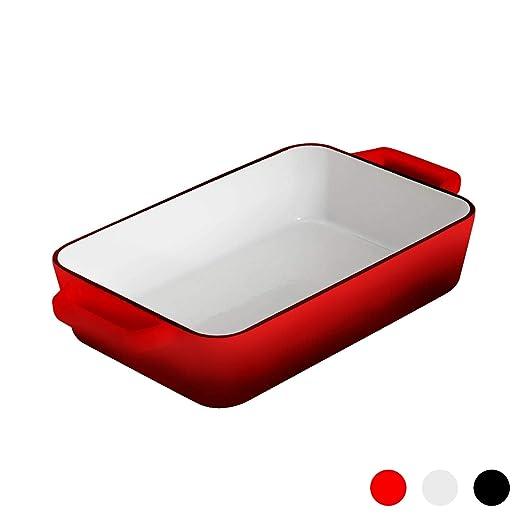 Argon Tableware Fuente Rectangular para Horno - para asados ...