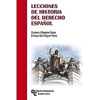 Lecciones de Historia del Derecho Español (Manuales)