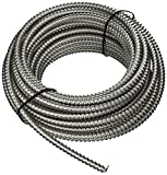 Southwire 68583422 50-Foot 12-Gauge 3-Conductor Type MC Conduit, Aluminum