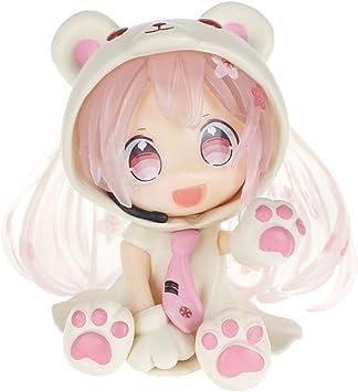 CoolChange Figura Vocaloid Chibi de Miku Hatsune en Disfraz de Oso ...