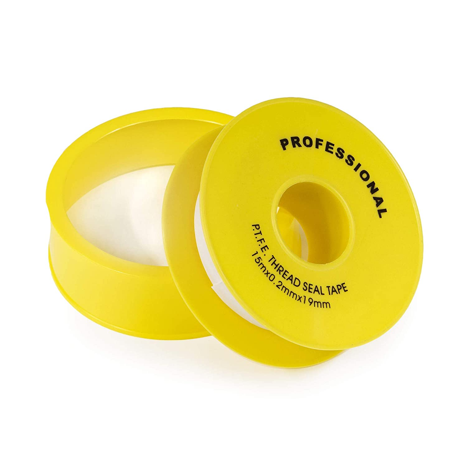 Gas Line PTFE 3/4 Thread Seal Tape for Plumbers Premium Grade Gas Line Tape