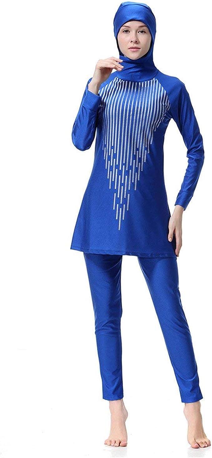 Haidean Donne Musulmane Abaya Dubai Musulmano Islamico Costume Burkini Casual Moderna Da Bagno Costumi Da Bagno Costume Da Bagno Hijab Manica Lunga Arabo Arabo India Abbigliamento Estate Amazon It Abbigliamento