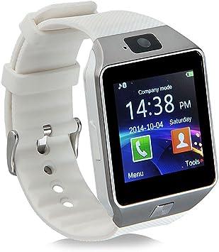 Bluetooth Reloj Inteligente DZ09, Smartwatch Teléfono Inteligente ...