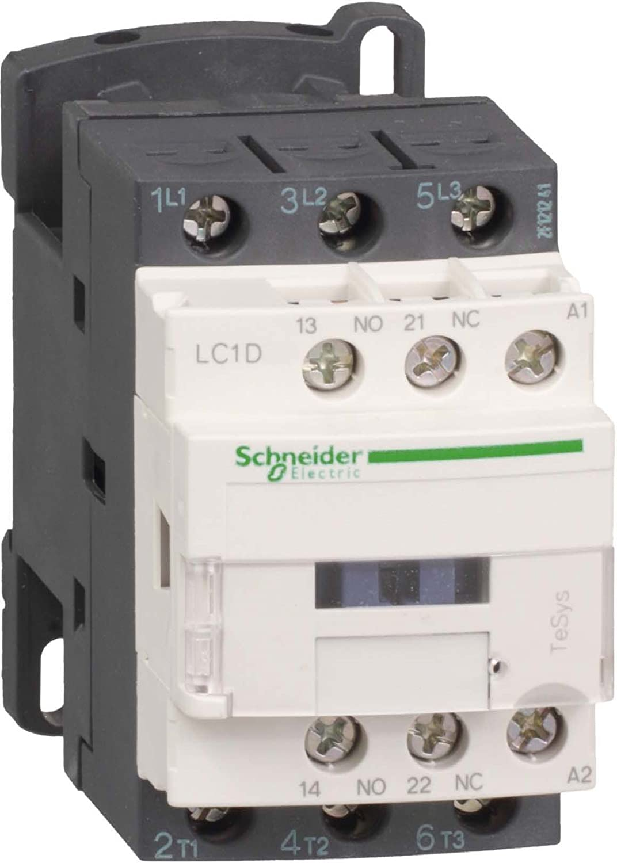Schneider Electric Lc1d09 N7 Contacteur 9 A 415 V 50/60 Hz, Cont. 9 A 415 V50/60 Hz Cont. 9A 415V50/60Hz LC1D09N7