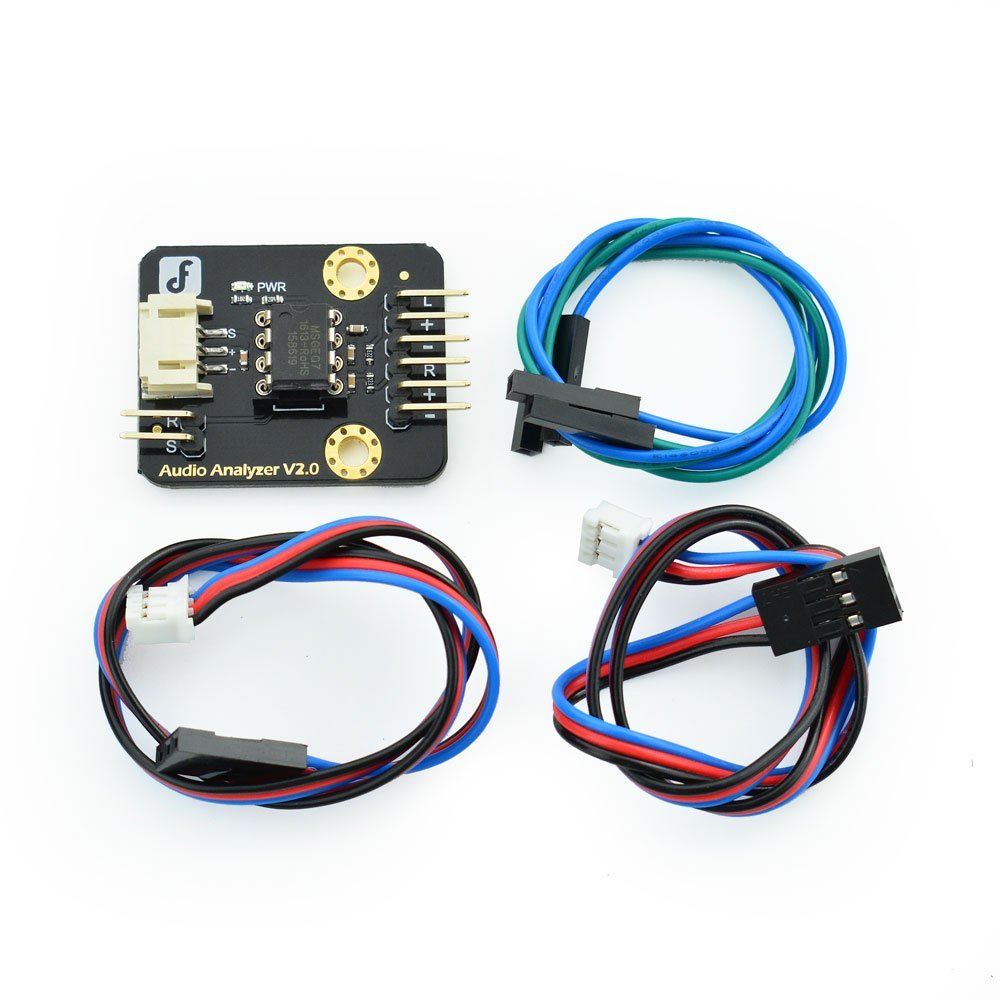 Dfrobot Audio Analyzer Industrial Scientific Why Is My Msgeq7 Circuit Giving Arduino Analog Readings That