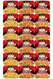Nissin Chow Mein Variety Sampler, Chicken, Teriyaki Beef and Shrimp Flavored, (18 Count)